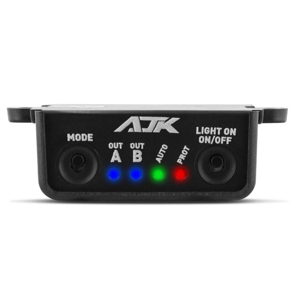 Central 12 Efeitos Strobo Pro AJK Sound  2 Saídas 12V