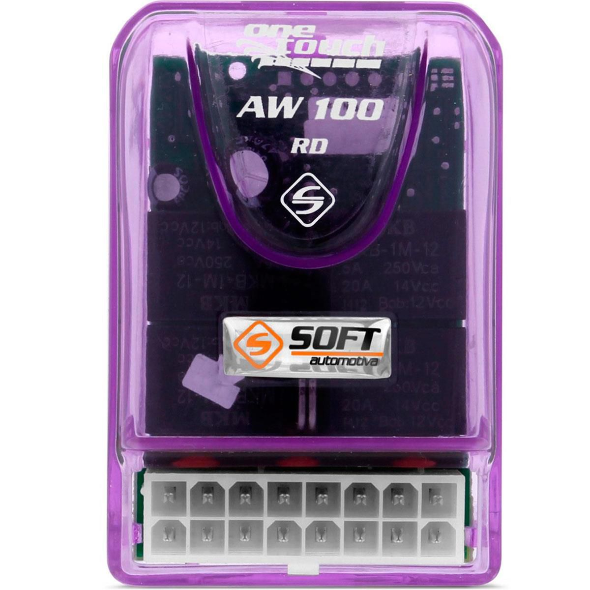 Central de Vidros Elétricos 2 Portas (Auto) Soft AW100RD