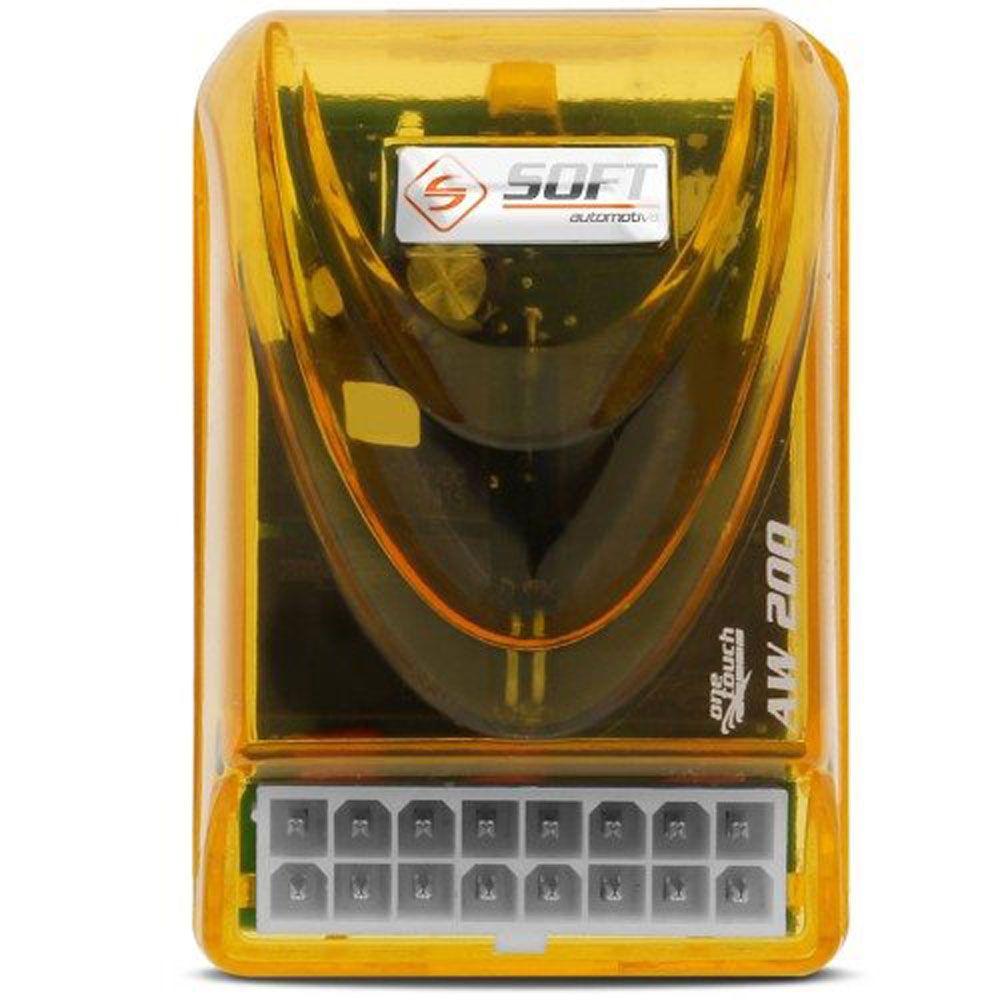 Central Vidro Elétrico Soft AW200 c/Antiesmagamento–2 portas