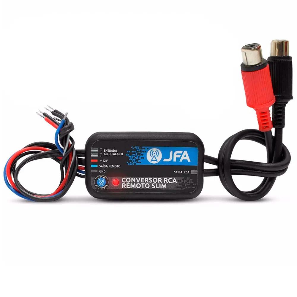 Conversor de Sinal RCA JFA Remoto Slim - 2 Canais - c/ Remote