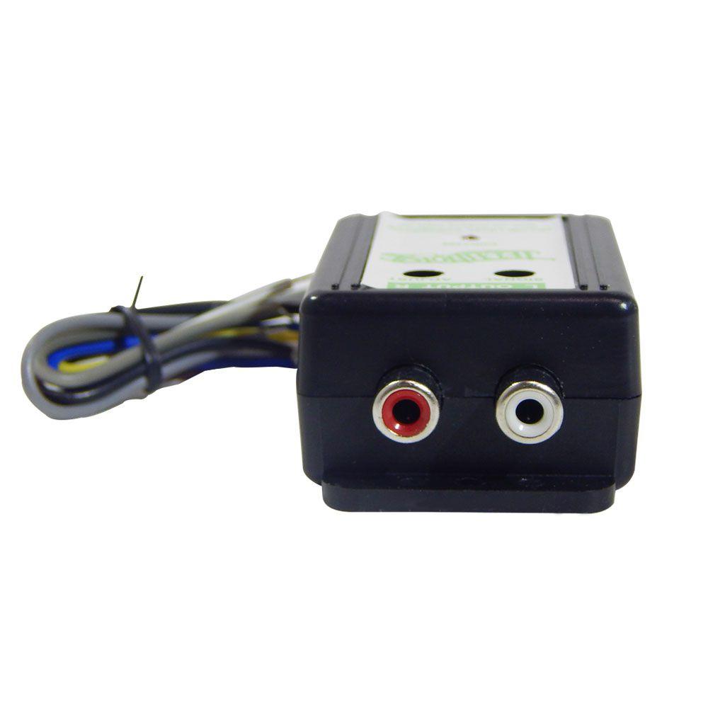 Conversor de Sinal Technoise Dynamic de Alta Para RCA – 2 Canais Remote