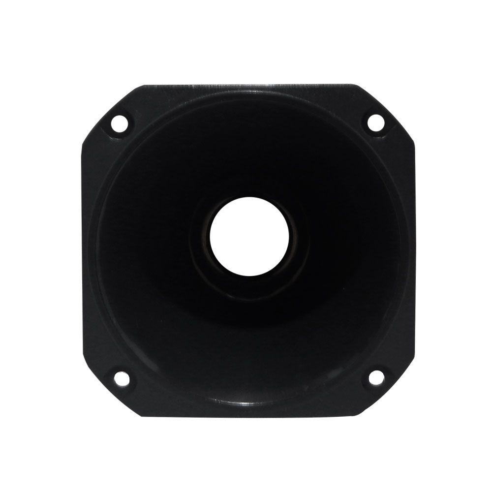 Corneta Redonda Fiamon FI 02 - Plástico - Preta