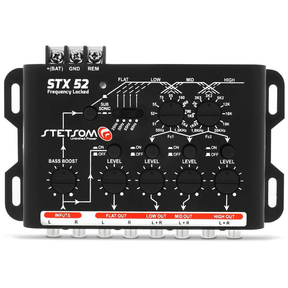 Crossover Stetsom STX52 Frequency Locked 4 Vias Mono