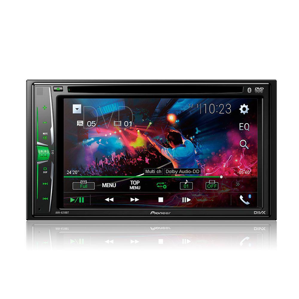 Dvd Player 2 Din Pioneer AVH-A218BT c/Espelhamento