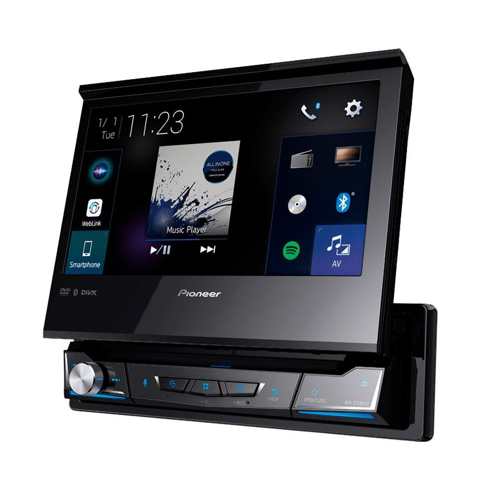 Dvd Player retrátil Pioneer AVH-Z7280TV Bluetooth Waze