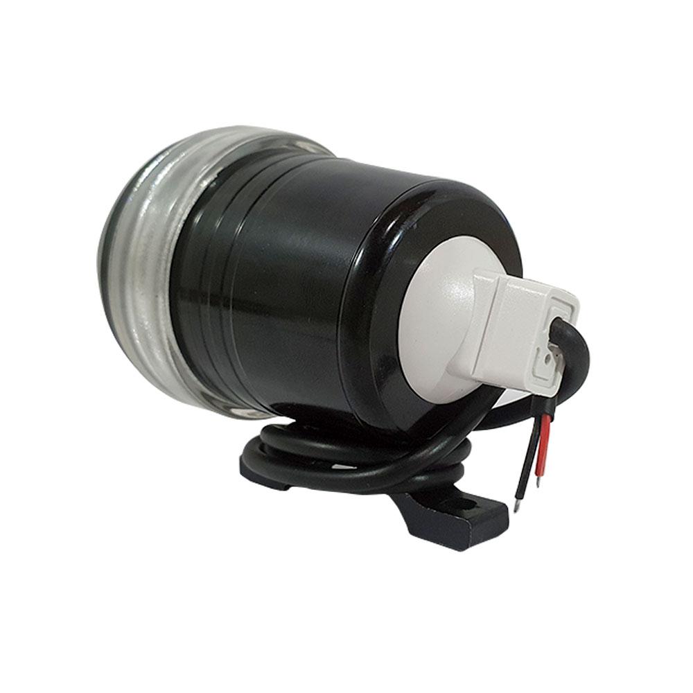 FAROL DE MILHA SUPER LED PROJETOR RAY X LTM1003 REDONDO - FOCO BRANCO 6000K/12V-65V/CORPO ALUMÍNIO/57X57X87MM - CÓD.239