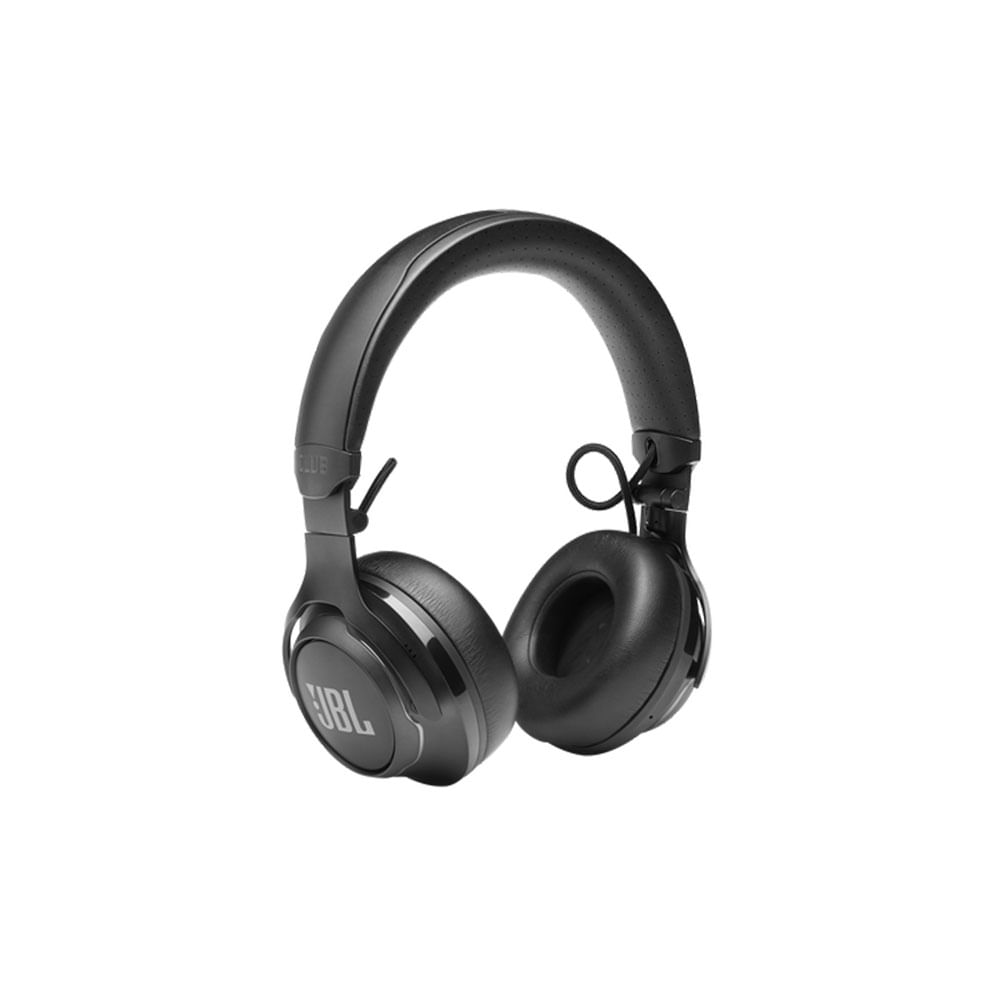 FONE DE OUVIDO (HEADPHONE) JBL CLUB 700BT C/ BLUETOOTH / APP MY JBL / BATERIA 50HS / GOOGLE ASSISTENTE - JBLCLUB700BTBLK