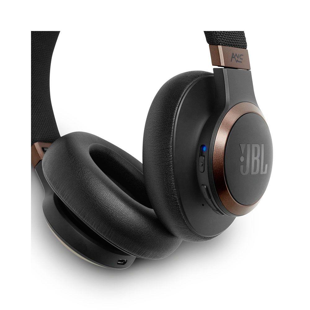Fone De Ouvido Headphone Jbl Live 650BT NC Bluetooth Preto
