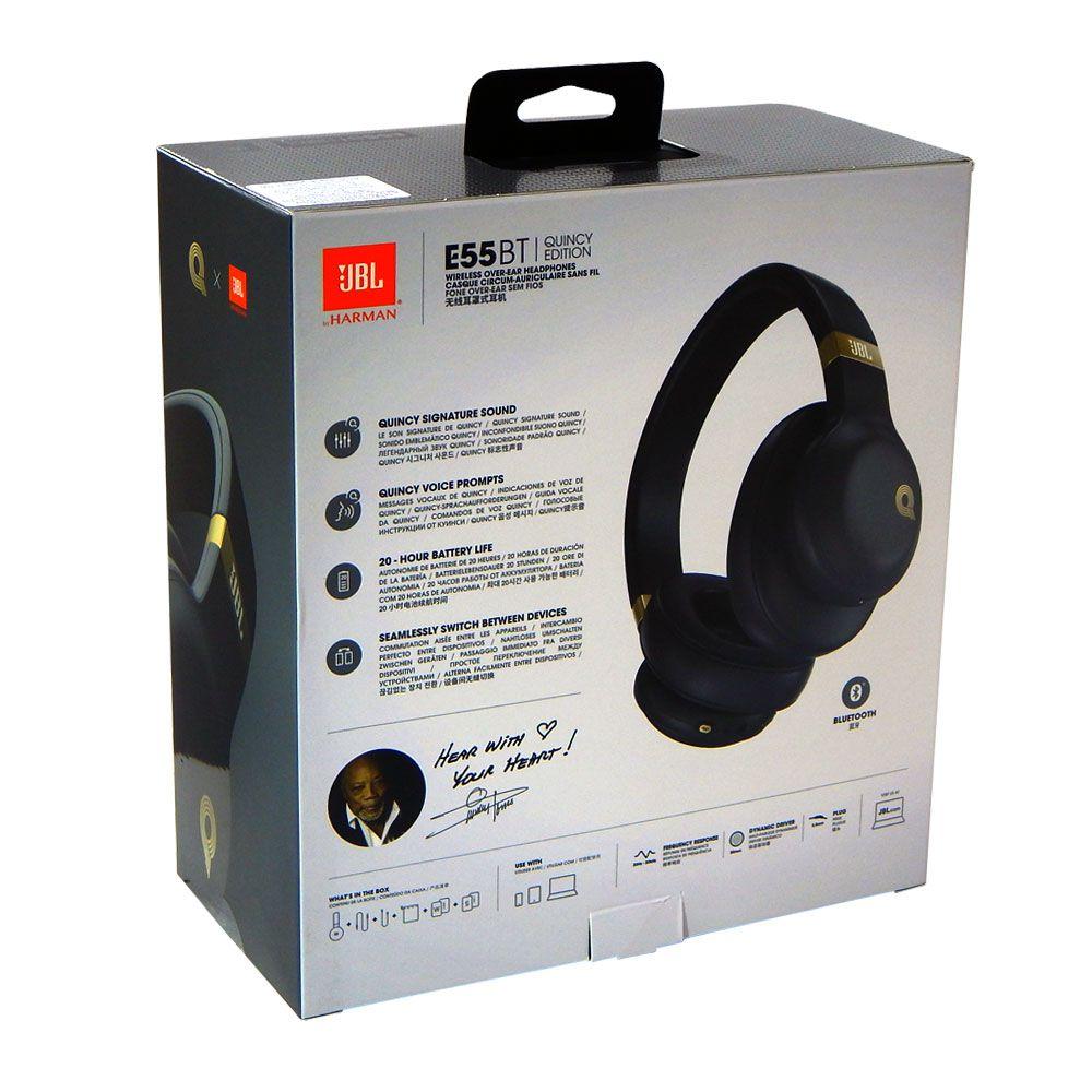 Fone de Ouvido JBL Quincy Edition Bluetooth E55BT Sem Fio
