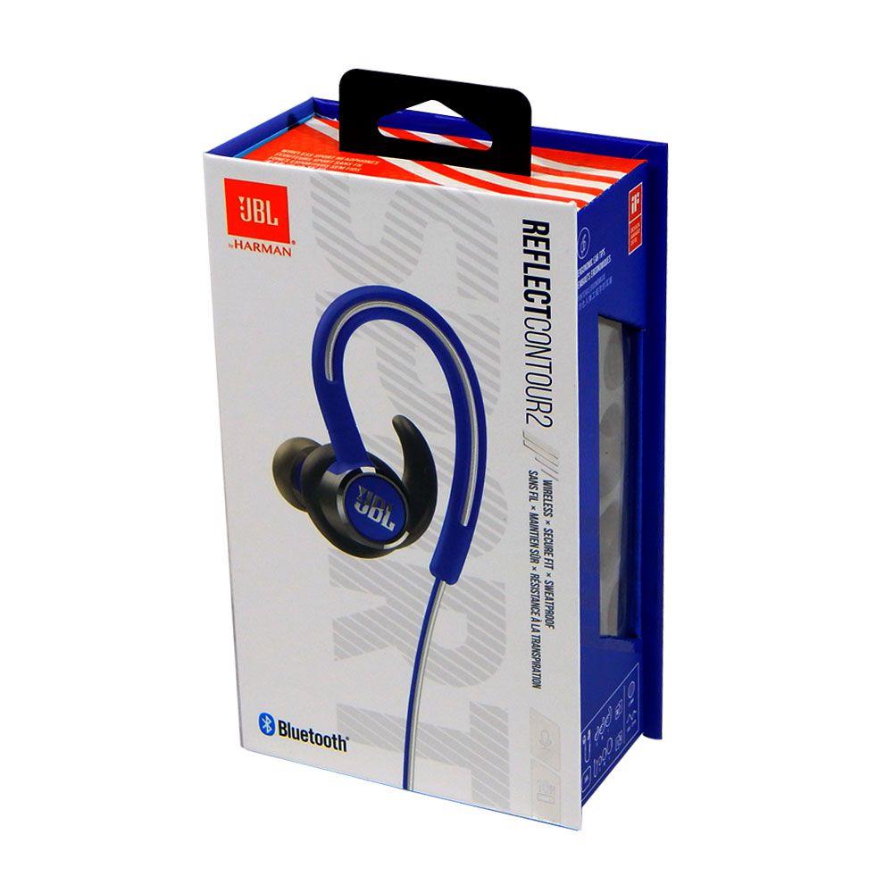 Fone De Ouvido Jbl Reflect Contour 2 Bluetooth Azul Sport