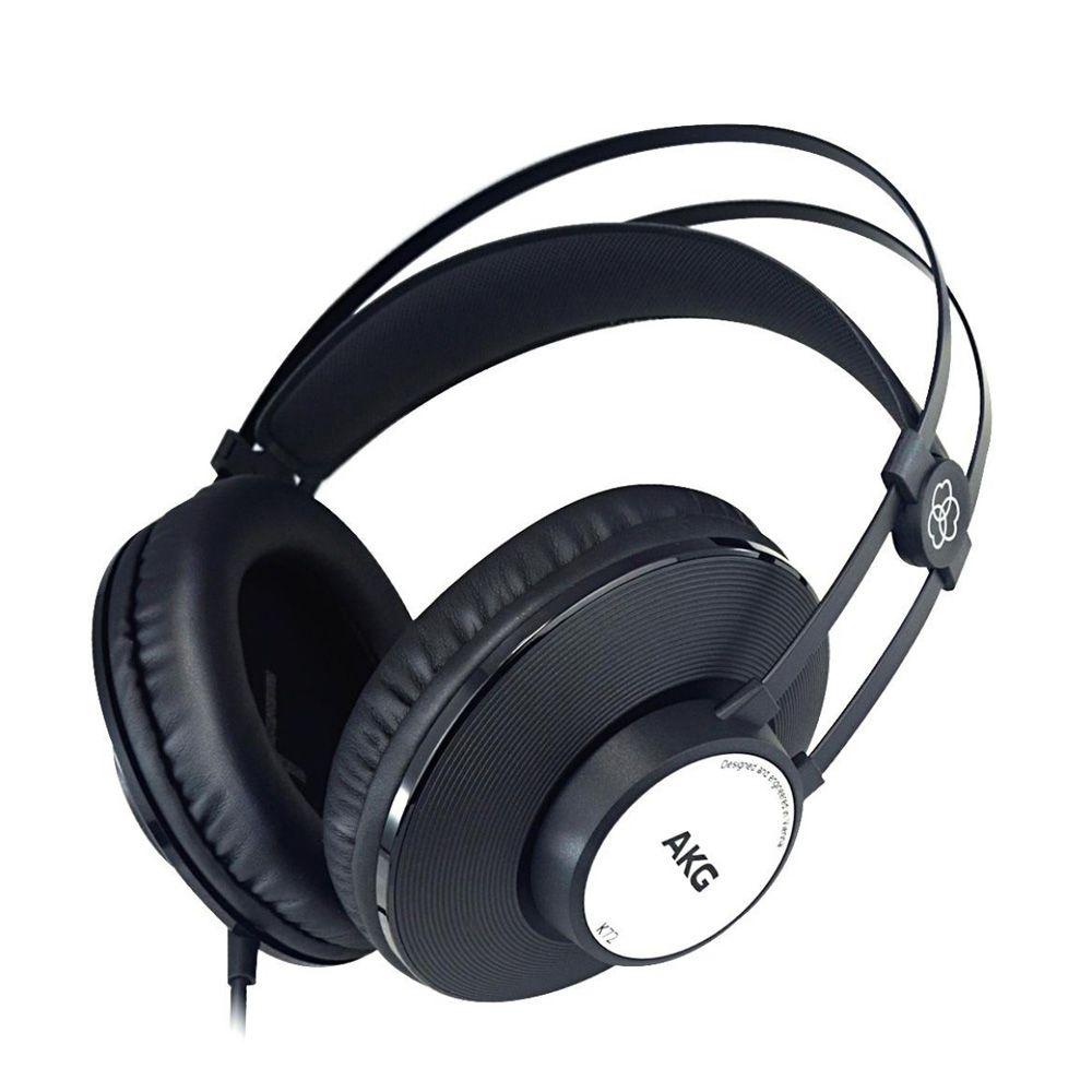Fone de Ouvido Profissional AKG K72 –Estúdio Ensaio Gravação