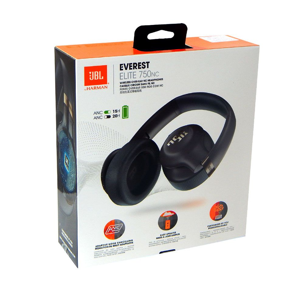 Fone Ouvido Bluetooth Original Jbl Everest Elite 750nc V750