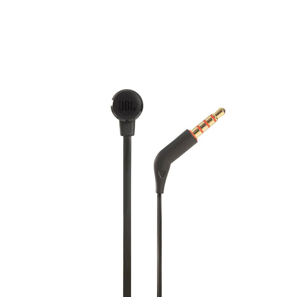 Fone Ouvido Original Jbl T290 Preto C/ Microfone - By Harman - JBL T290 BLK - PRETO