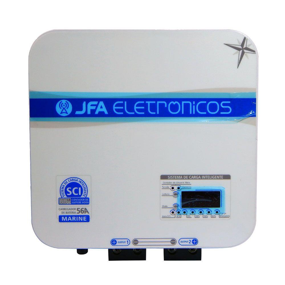 Fonte Carregador de Bateria Náutica JFA Marine SCI 56A