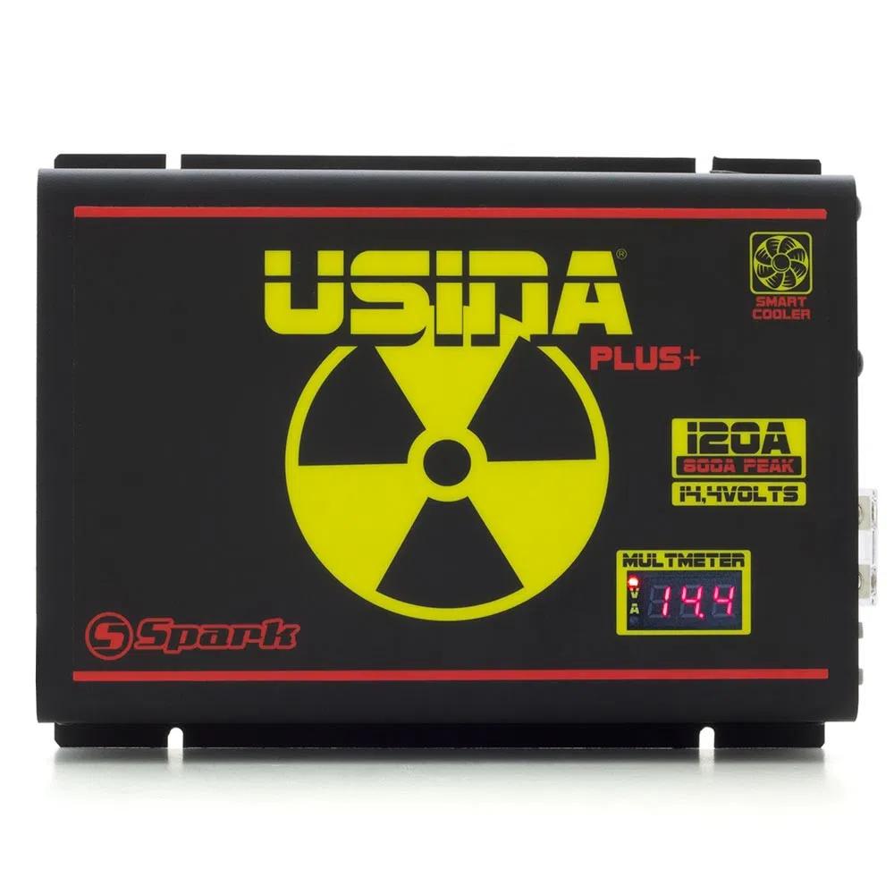 Fonte Carregador Digital Usina 120A Smart Cooler Multímetro - SUVA12120BV - USINA 120A