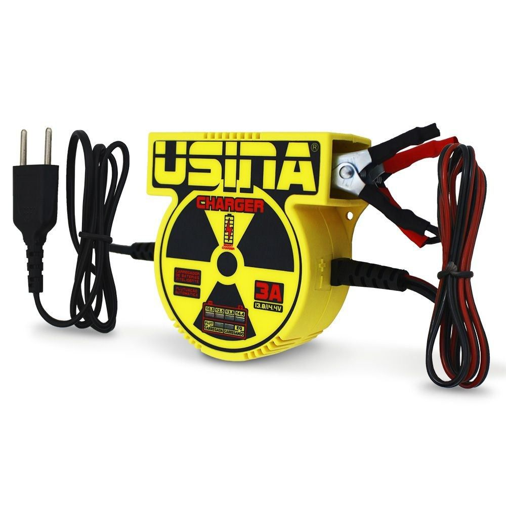 Fonte Carregador Usina Charge 3A Bi-Volt automático
