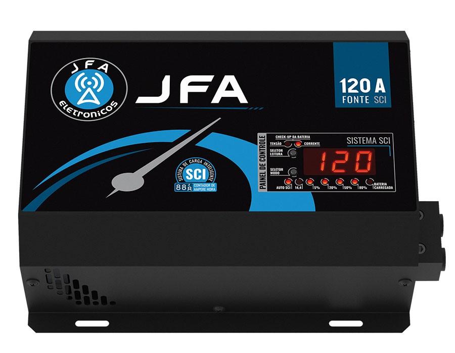 Fonte Automotiva 120a Jfa Carregador Sistema Sci Bivolt