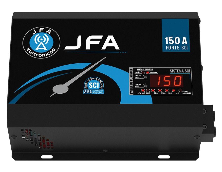 Fonte Digital Jfa 150a Sci - Bivolt Voltímetro E Carregador