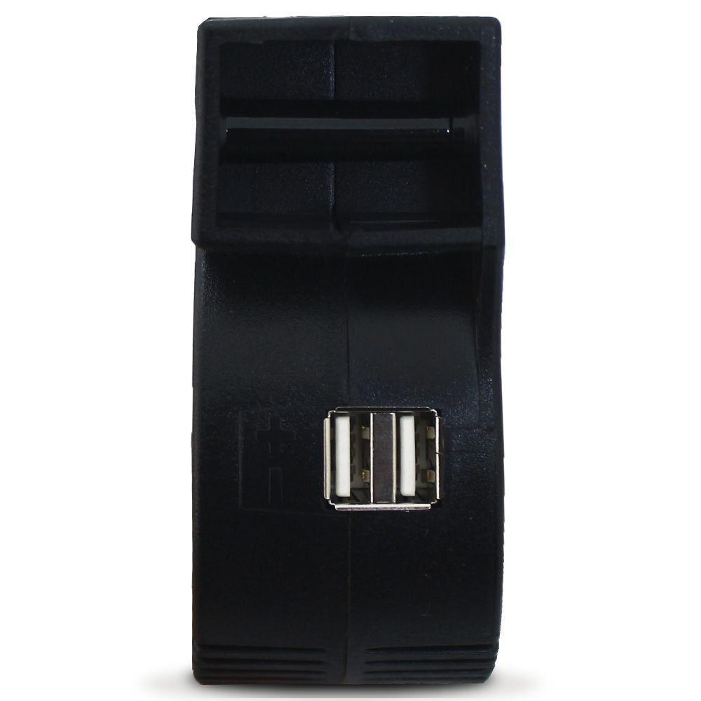 Fonte USB Usina Carregador de Celular 6A Bi-Volt automático