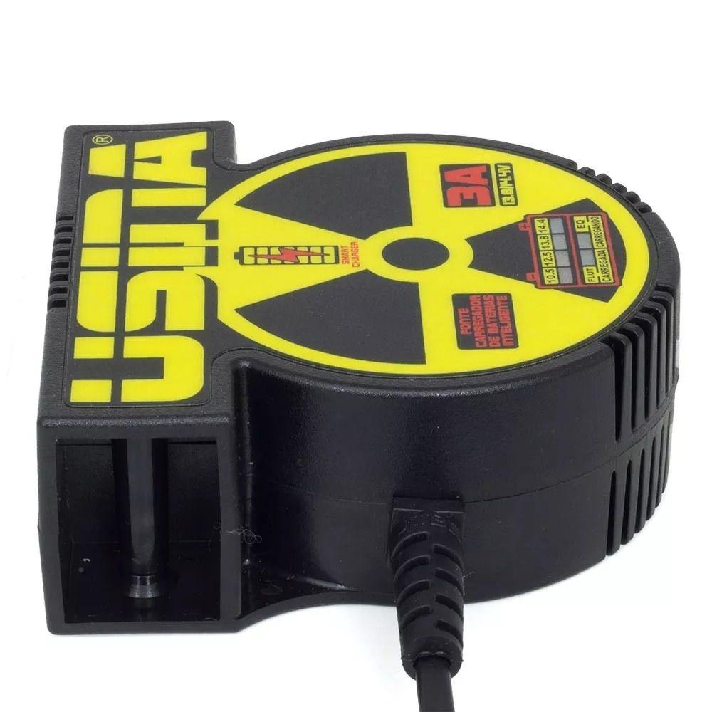 Fonte Usina 3A Carregador inteligente 12V Bi-Volt automático