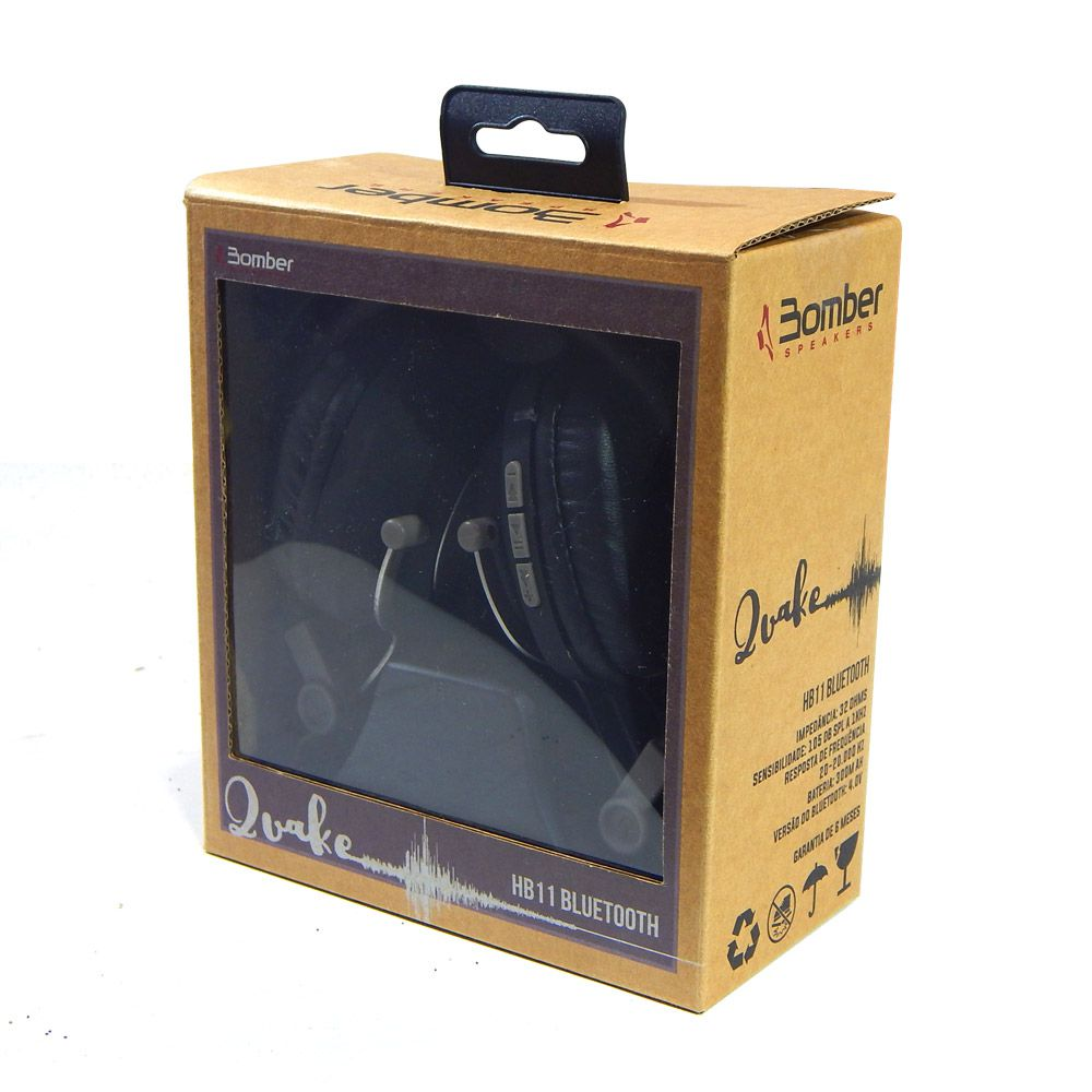 Headphone Bluetooth Bomber Quake HB11