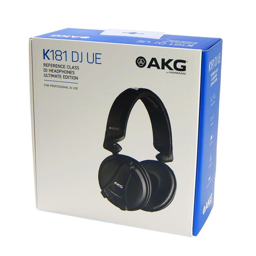 Headphone de Referência AKG K181DJ Ultimate Edition Profissional