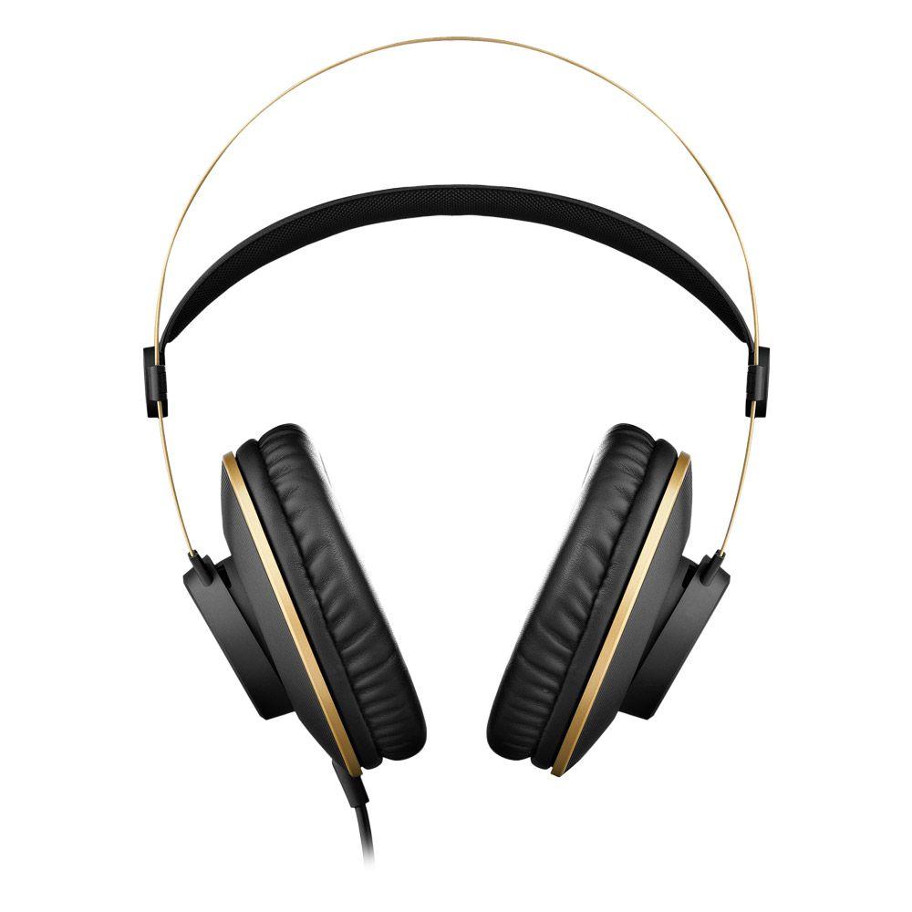 Headphone Profissional AKG K92 Over-Ear – Estúdio Ensaio Gravação