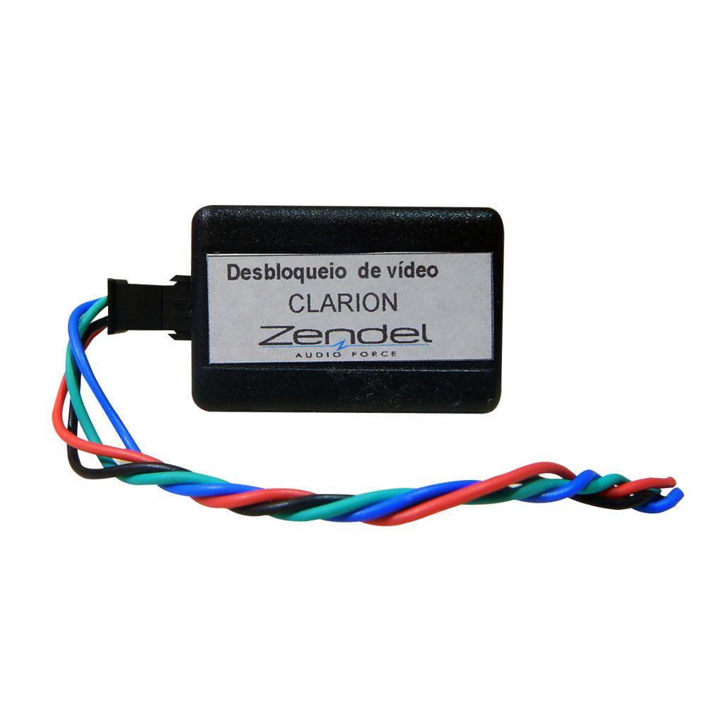 Interface Desbloqueio de Tela Central Clarion/Mitsubishi - Zendel