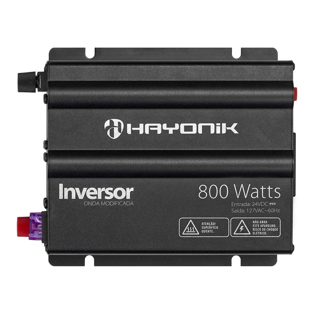 Inversor de Onda HAYONIK 800W 24VDC/127V