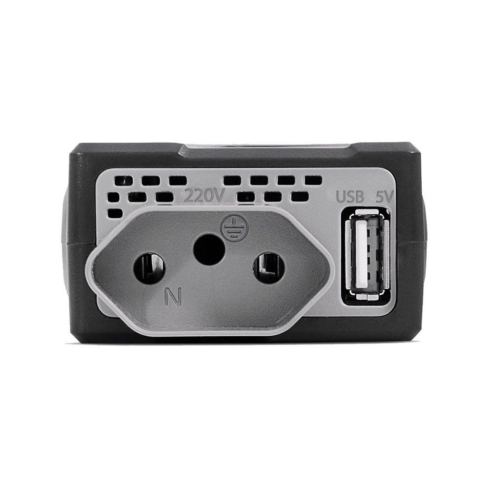 Inversor de Potência Multilaser 150W 12V para 220V com USB
