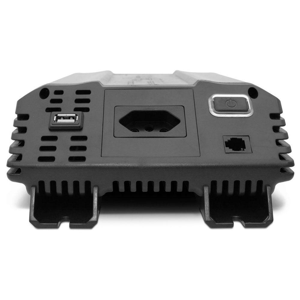 Inversor de Potência Tech One 3000W 12V para 220V - Tomada – USB