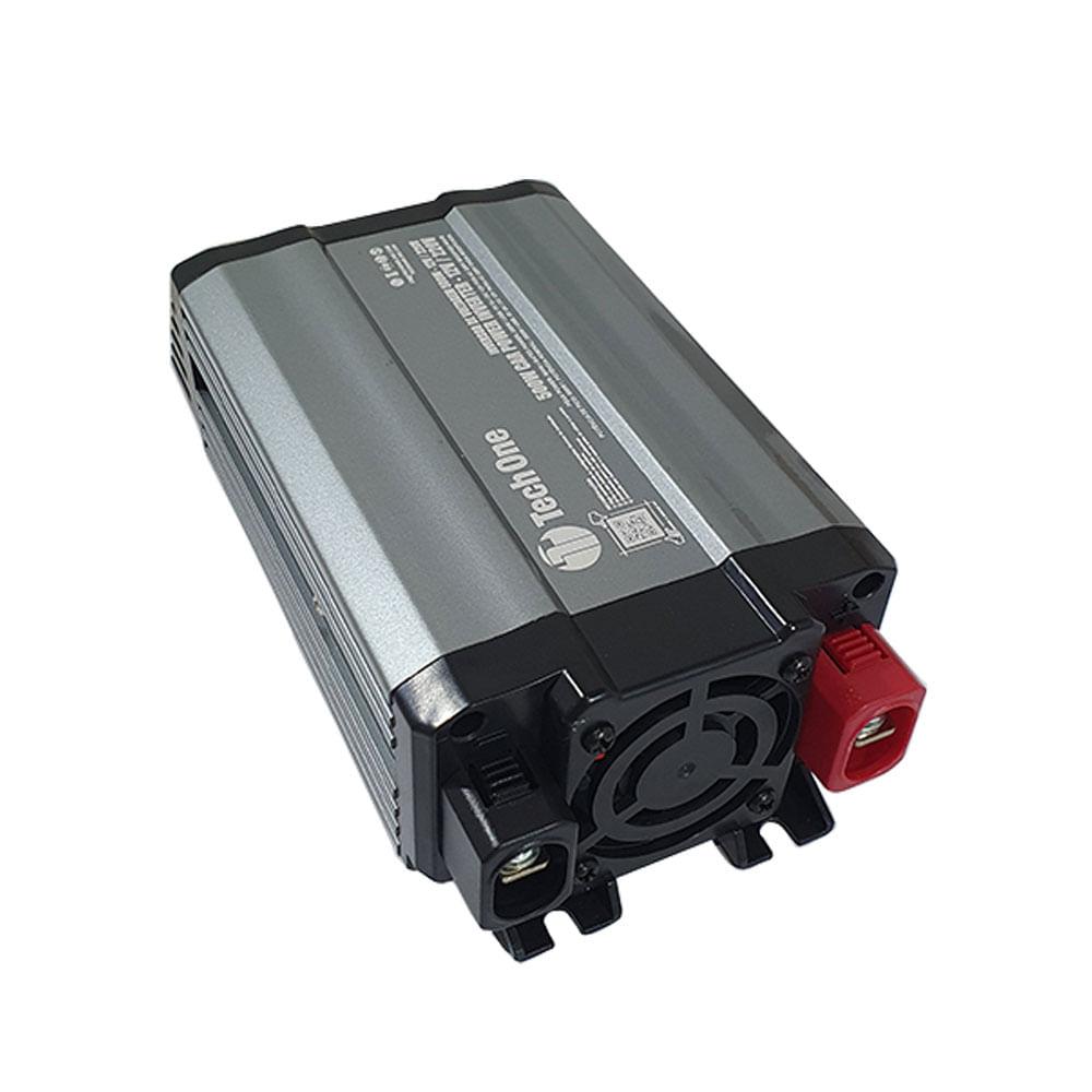 Inversor de Potência TechOne 500W 12V para 220V - Tomada ? USB - B-2203 - 500W