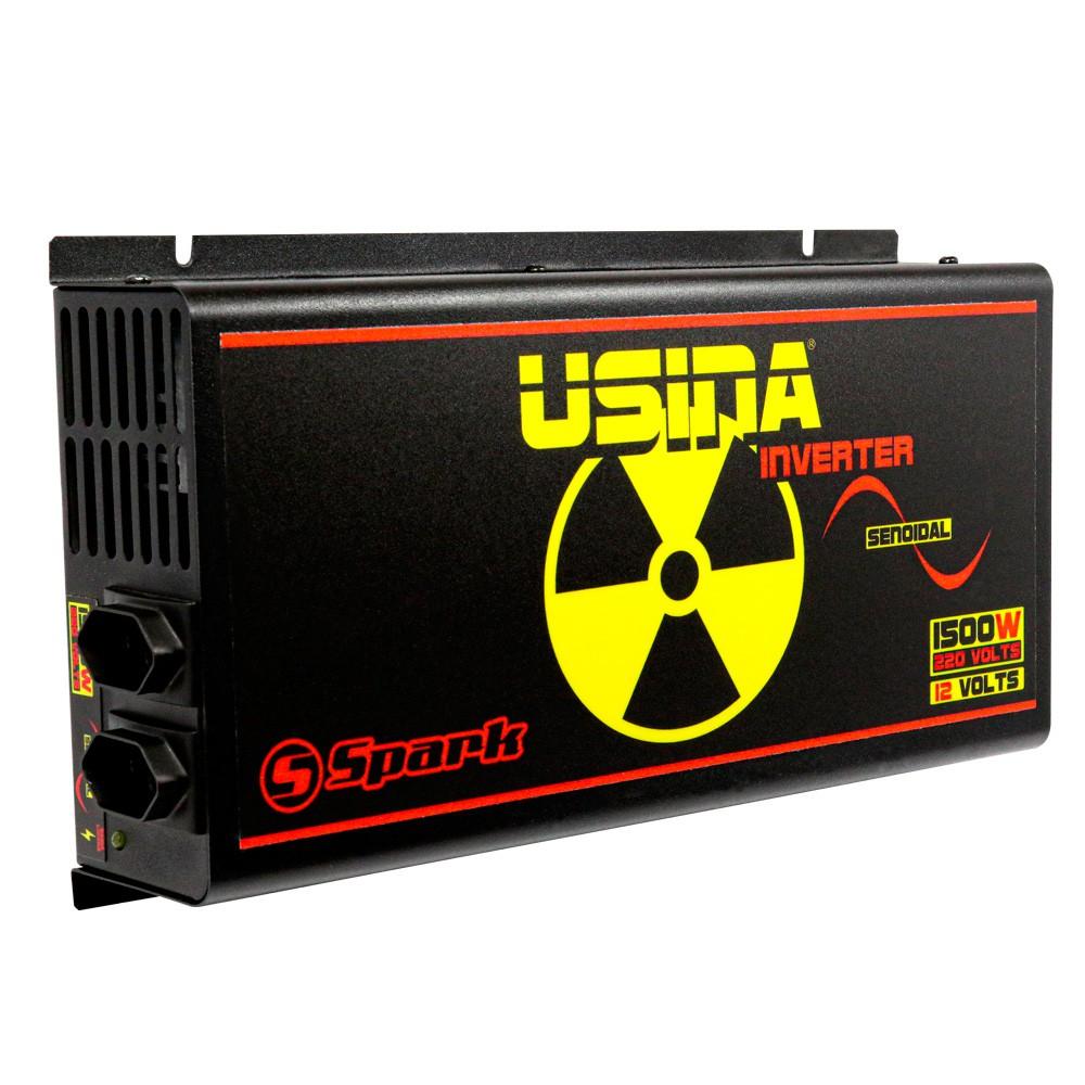 Inversor De Tensão Senoidal Usina Inverter 1500w 12v 220v