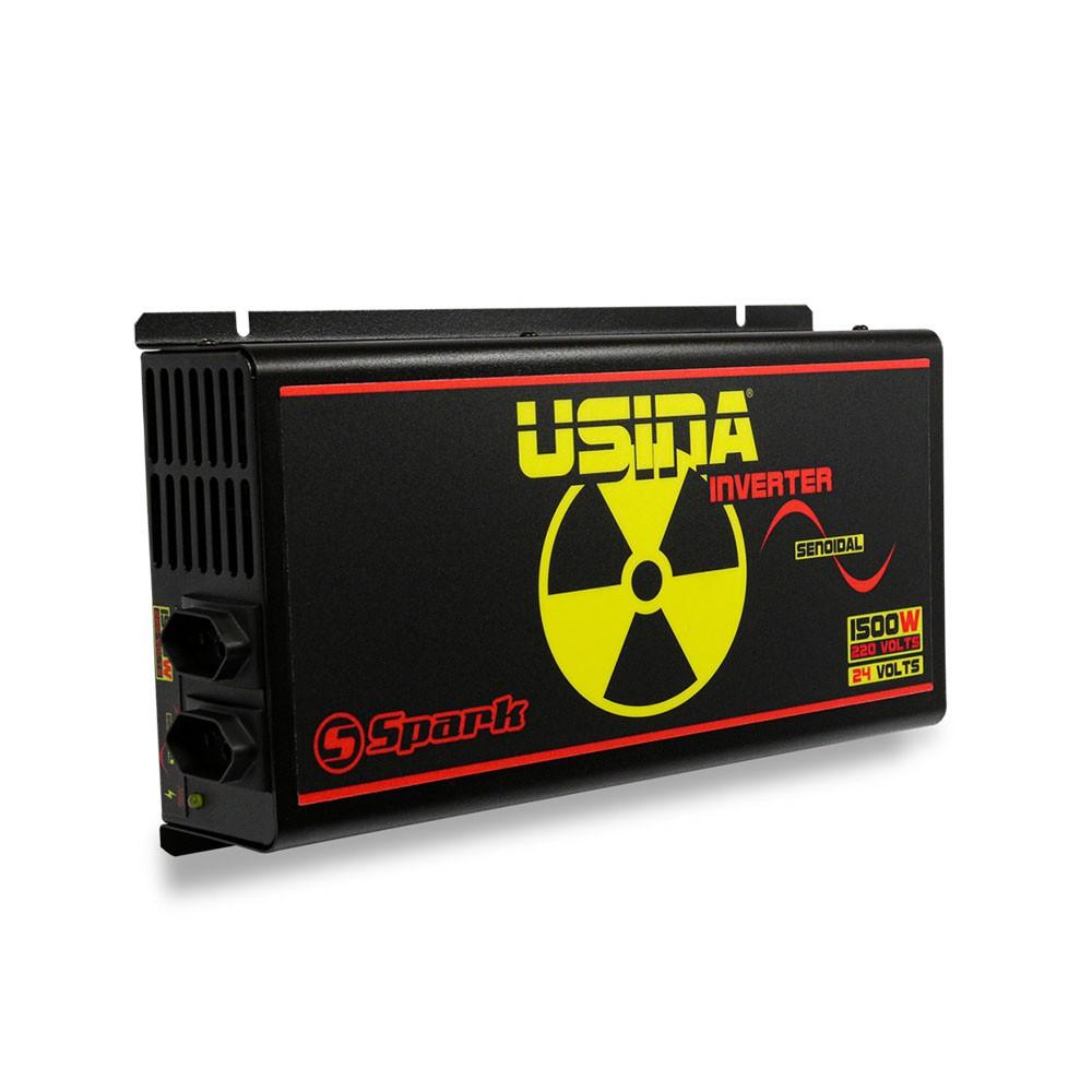 Inversor De Tensão Senoidal Usina Inverter 1500w 24v 120v