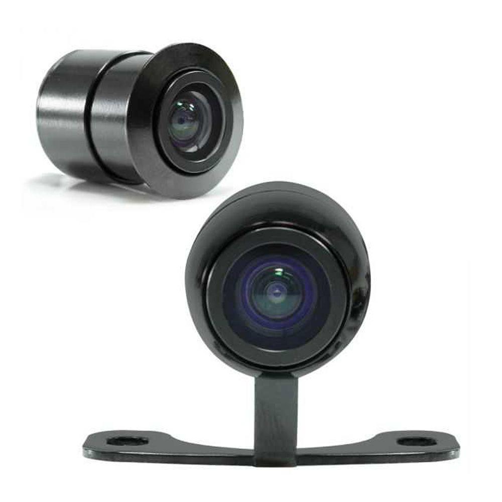 Kit c/4 Câmera de Ré Colorida Tech One Flex - 2 Fixações