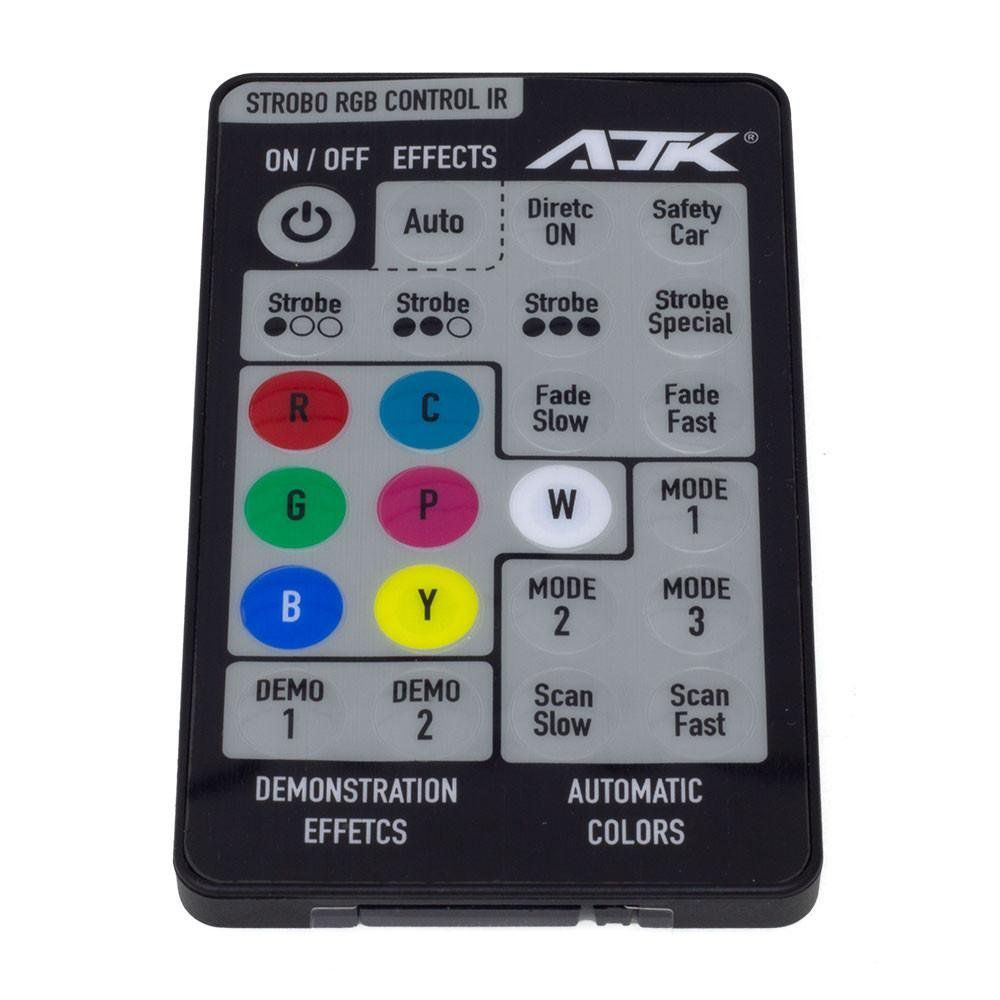 Kit Central AJK RGB IR Control com Controle Remoto