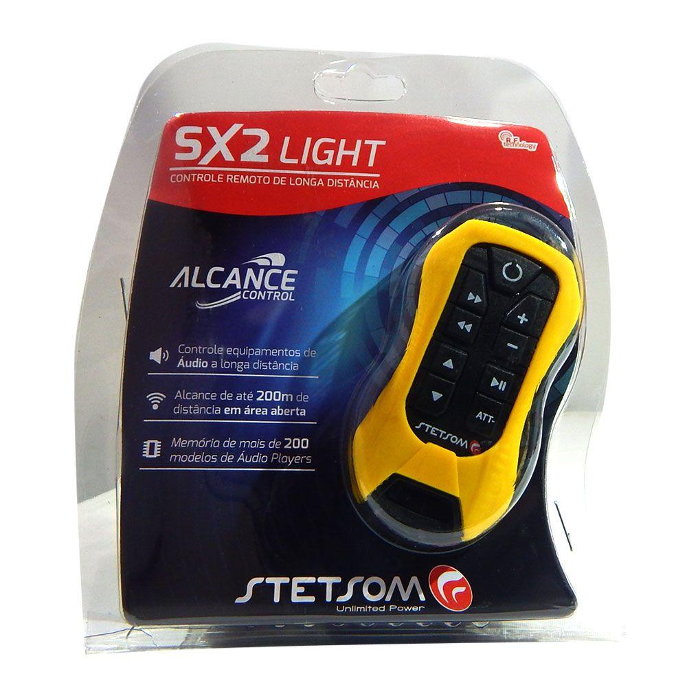 Kit Controle de Longa Distância Stetsom SX2 Light - Amarelo - Alcance Control