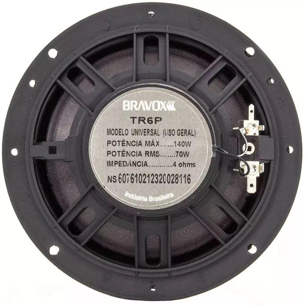 Kit Fácil Premium Bravox B4X69 P + TR6 P - 160W + 140W RMS