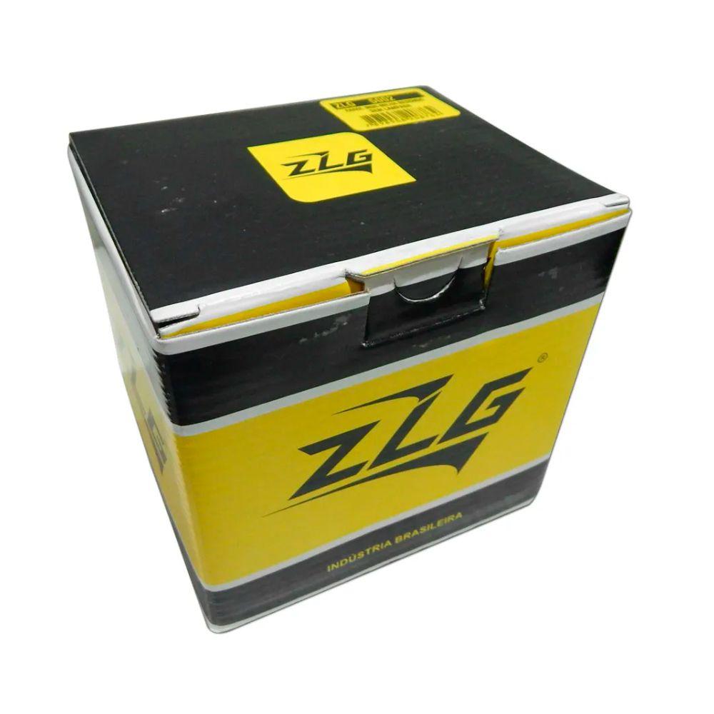 Kit Farol Mini Milha Longo Alcance ZLG 5002 Universal Redondo