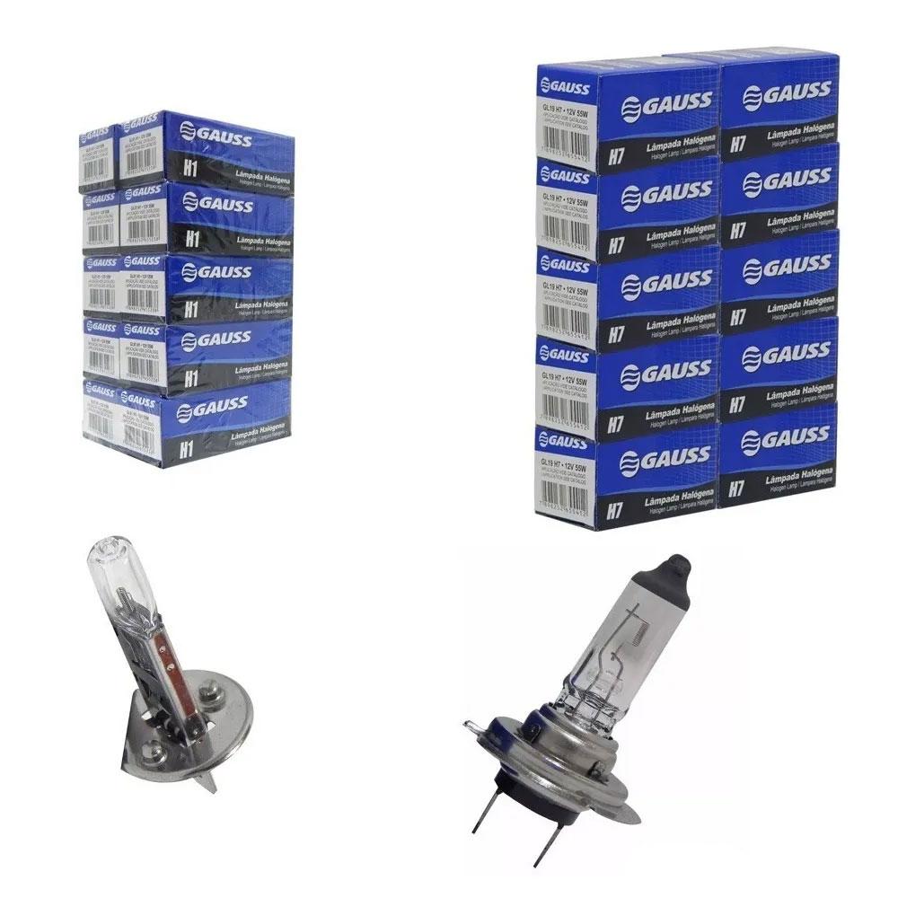 KIT GAUSS-9 20xH1 + 20xH7 12V - KIT GAUSS-9