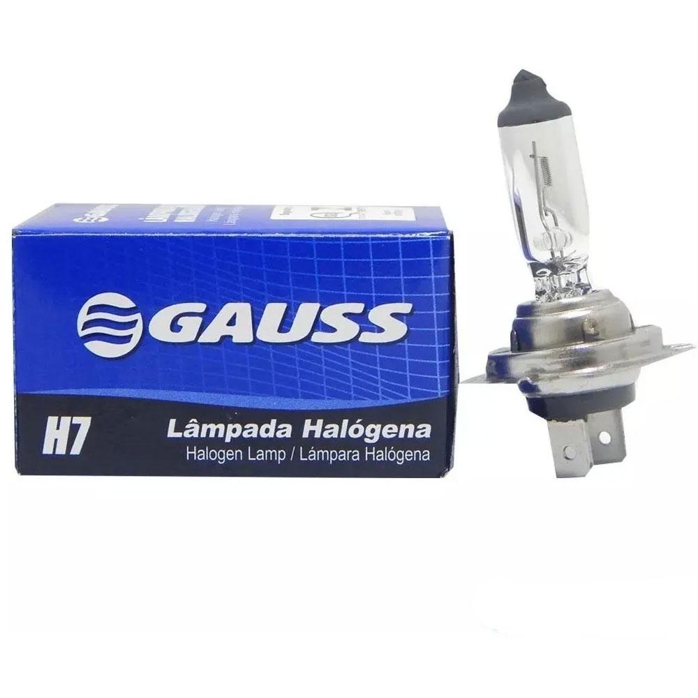 Kit Lampada Gauss 12v Com 10x H7 55w + 10x H1 55w - 10H1 10 H7
