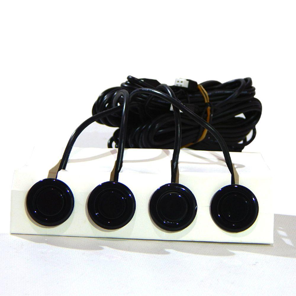 Kit Retrovisor com Câmera de Ré e Sensor de Estacionamento Tech One - Visão Noturna