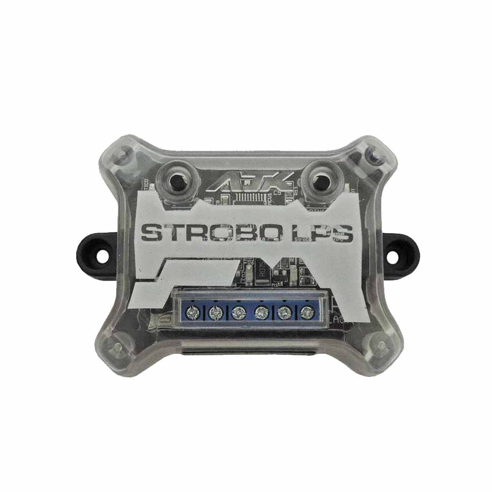 Kit Strobo LED AJK Sound LPS Black –  Âmbar – 12 Efeitos