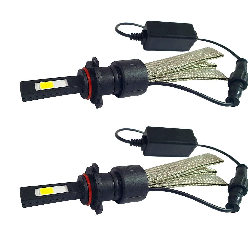 KIT SUPER LED FITA (MALHA) TIGER H1 / H3 / H7 / H8 / H11 / H13 / H27 / HB1 HB3 HB4 - 6000K 3200LM / 25W TG-10.03.004