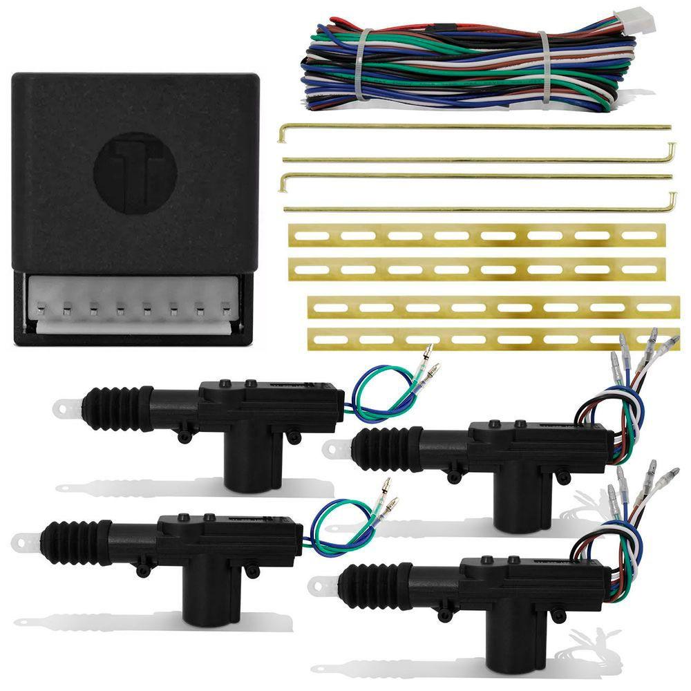 Kit Trava Elétrica 4 Portas Universal Techone