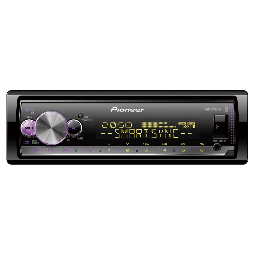 Media Receiver MP3 Player Pioneer MVH-X300BR Bluetooth