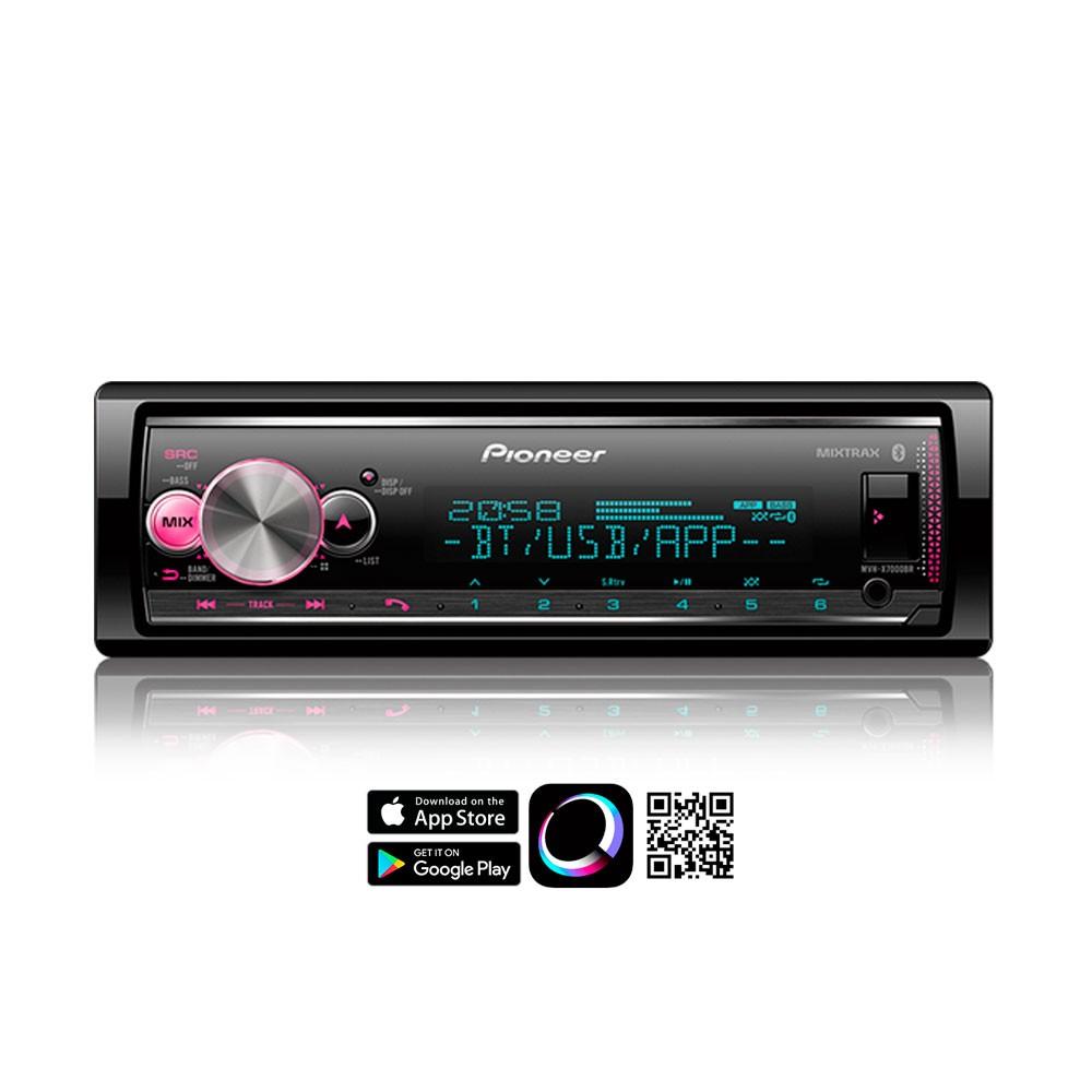 Media Receiver Pioneer MVH-X7000br Bluetooth Spotify USB