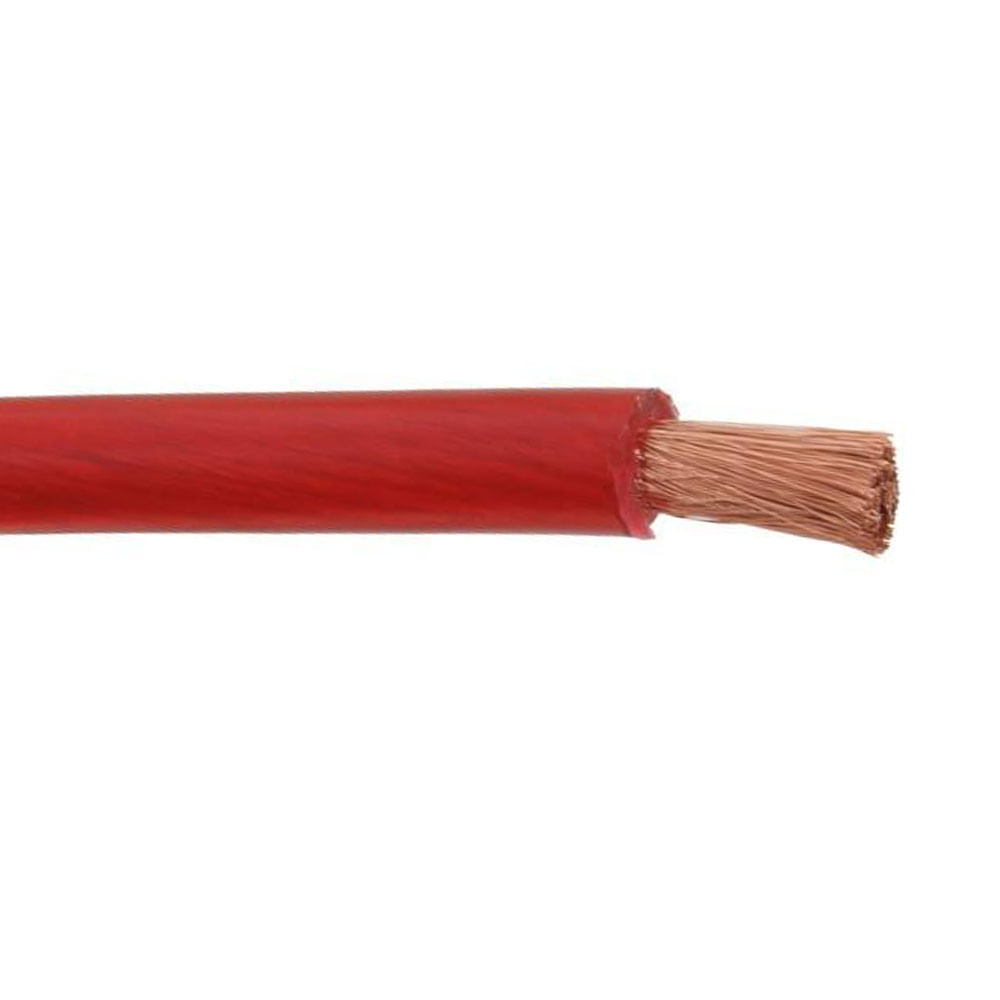 Metro Cabo De Bateria Technoise 50mm Som Puro Cobre 50,00 Mm - Vermelho - 6425 - ALIMENTAÇÃO 50,00MM