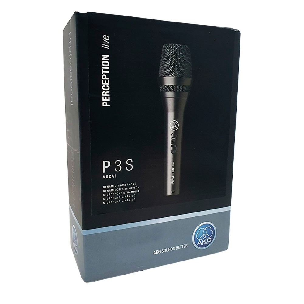 Microfone AKG Perception P3S  - PRO de alto desempenho.