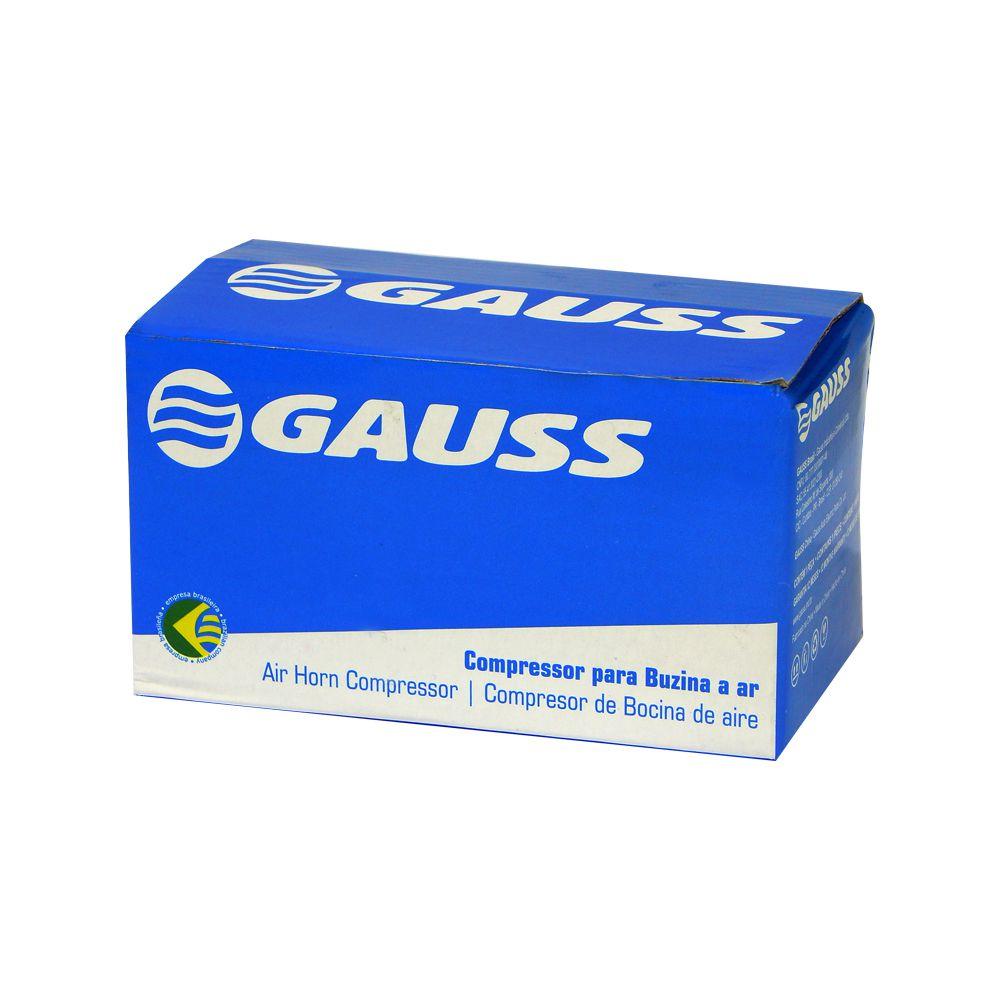 Mini Compressor Gauss Para Buzinas a Ar 24v – GB1102